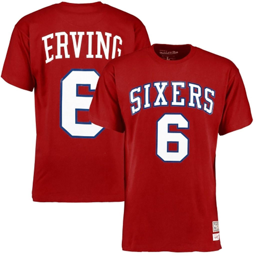 NBA Hardwood Classics manga corta · Camiseta Julius Erving. Philadelphia  76ers. NBA Hardwood Classics manga corta ... 2a631b20d