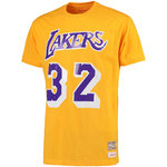 Camiseta Magic Jhonson Mitchell and Ness Harwood Classics manga corta