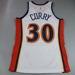 Camiseta Stephen Curry. Golden State Warriors. Hardwood Classics.Blanca