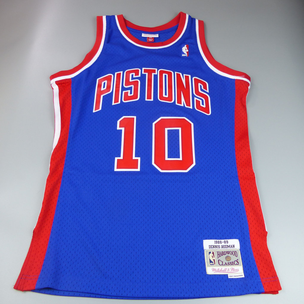 separation shoes a543a 86570 Dennis Rodman.Detroit Pistons. Swingman. NBA Hardwood Classics.
