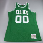Camiseta Robert Parish. Boston Celtics Verde. Hardwood Classics