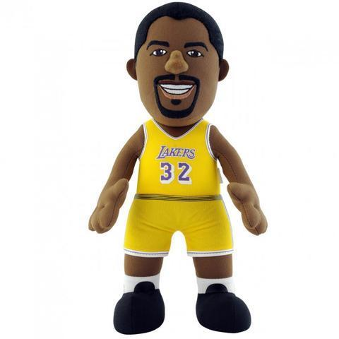 Magic Johnson. Angeles Lakers. NBA Muñeco Peluche