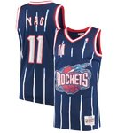 Camiseta Yao Ming. Houston Rockets. Navy. Swingman. Mitchell and Ness