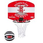 Mini canasta Houston Rockets. NBA Spalding
