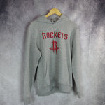 Sudadera con capucha. Houston Rockets. New Era. Gris