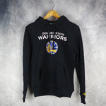 Sudadera con capucha. Golden State Warriors NBA. New Era. Negra