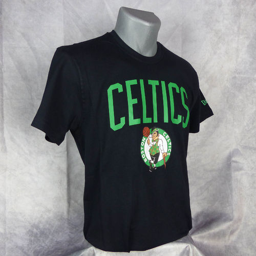 Camiseta Boston Celtics NBA. Manga corta, color verde. New Era