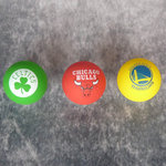 Pack Spaldeens Boston Celtics, Warriors, Chicago Bulls