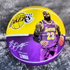 Balón Lebron James. Ángeles Lakers. NBA. Spalding. Minibasket