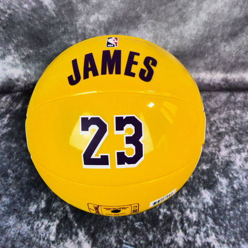 Balón Spalding NBA Lebron James. Ángeles Lakers.Talla1.5