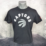 Camiseta Toronto Raptors NBA. Manga corta, color negra. New Era