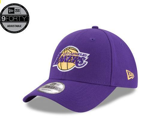 "Gorra NBA New Era ""Los Angeles Lakers"". Púrpura"