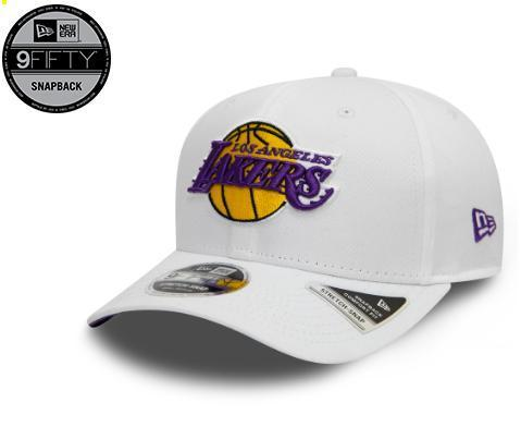 "Gorra NBA New Era ""Los Angeles Lakers"". Blanca 9FIFTY"