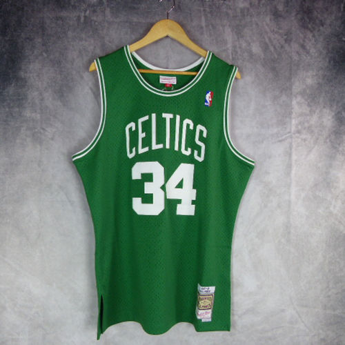 Camiseta Boston Celtics. NBA. Paul Pierce. Verde. Hardwood Classics