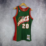 Camiseta Gary Payton. Supersonics Seattle.Swingman. Harwood Classics.