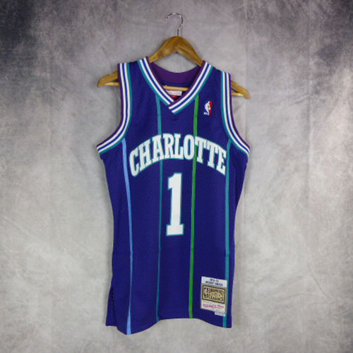 Camiseta Mugssy Bogues. Orlando Magic. Swingman. Harwood Classics.Mitchell and Ness.