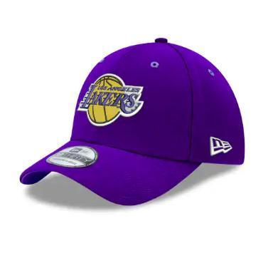 "Gorra Diamond New Era ""Los Angeles Lakers"" 39THIRTY. Púrpura"