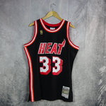 Camiseta Alonso Mourning. Miami Heat. NBA retro. Hardwood Classics. Swingman Fandation