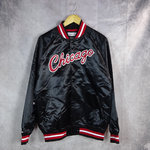 Chaqueta Chicago Bulls Light Satin. Hardwood Classics. Mitchell and Ness