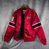 Chaqueta Chicago Bulls Heavyweight Satin Jacket. Hardwood Classics. Mitchell and Ness