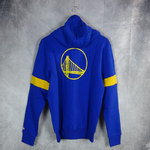 Sudadera con cremallera. Golden State Warriors NBA. New Era. azul