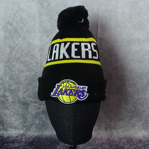 "Gorro de punto New Era  ""Los Angeles Lakers"". Niño"
