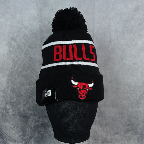 "Gorro NBA New Era ""Chicago Bulls"" Adulto. Negro"
