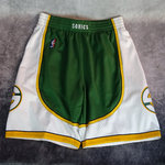 Shorts Seattle Supersonics NBA. Swingman. Hardwood Classics