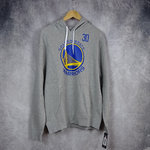 Sudadera con capucha. Stephen Curry. Golden State Warriors NBA. Gris. Outerstuff.