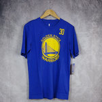 Camiseta manga corta Stephen Curry. Golden State Warriors. NBA azul. Outerstuff