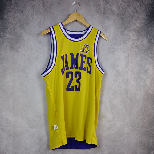 Camiseta sin mangas reversible. Lebron James. Los Angeles Lakers. NBA. Outerstuff