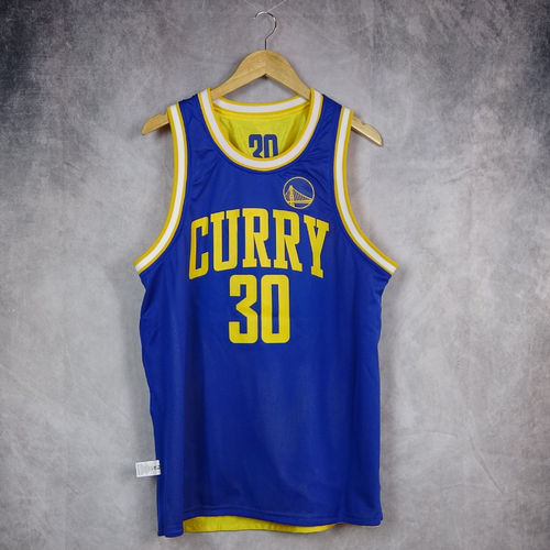 Camiseta sin mangas reversible. Stephen Curry. Golden State Warriors. NBA. Outerstuff