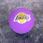 Spaldeens Angeles Lakers NBA. Pelota goma bote alto.
