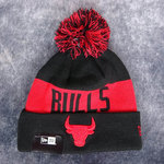 Gorro NBA Chicago Bulls. Pompón. Tonal Knit. New Era