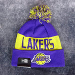 Gorro NBA Ángeles Lakers. Pompón. Tonal Knit. New Era