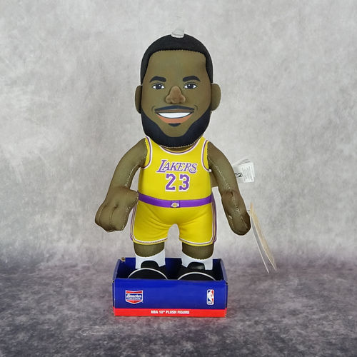 Lebron James. Angeles Lakers. NBA. Muñeco Peluche