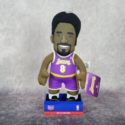 Kobe Bryant. Angeles Lakers. NBA. Muñeco Peluche