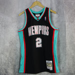 Camiseta Jason Williams.Memphis Grizzlies. 2001-2002. Negra. Swingman. Hardwood Classics.