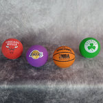 Pack Spaldeens 4 uds. Pelota NBA, Lakers, Celtics, Bulls