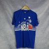 Camiseta New Era Orlando Magic NBA. Throwback azul