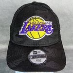 Gorra NBA niño. Los Angeles Lakers Seasonal. The League Kids Camo Black 9Forty Cap. New Era