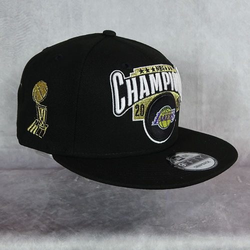 Gorra Campeones NBA 2020. Los Angeles Lakers. 9Fifty. New Era