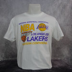 Camiseta Los Angeles Lakers. Western Conference Tee, Manga corta.. Hardwood Classics