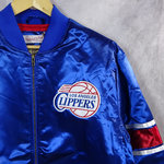 Chaqueta Los Angeles Clippers Heavyweight Satin Jacket. Hardwood Classics. Mitchell and Ness