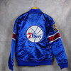 Chaqueta Philadelphia 76ers Heavyweight Satin Jacket. Hardwood Classics. Mitchell and Ness