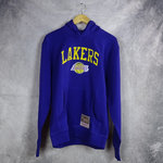 Sudadera con capucha, Los Angeles Lakers. Morada. NBA Arch Hoddy. Bordada.