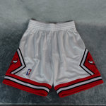 Shorts Chicago Bulls blanco. NBA 1997. Swingman. Hardwood Classics