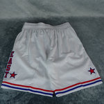 Pantalones cortos All-Star NBA  East 1985-86. Swingman. Hardwood Classics. Blancos