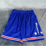 Pantalones cortos All-Star NBA  West 1985-86. Swingman. Hardwood Classics. Azules