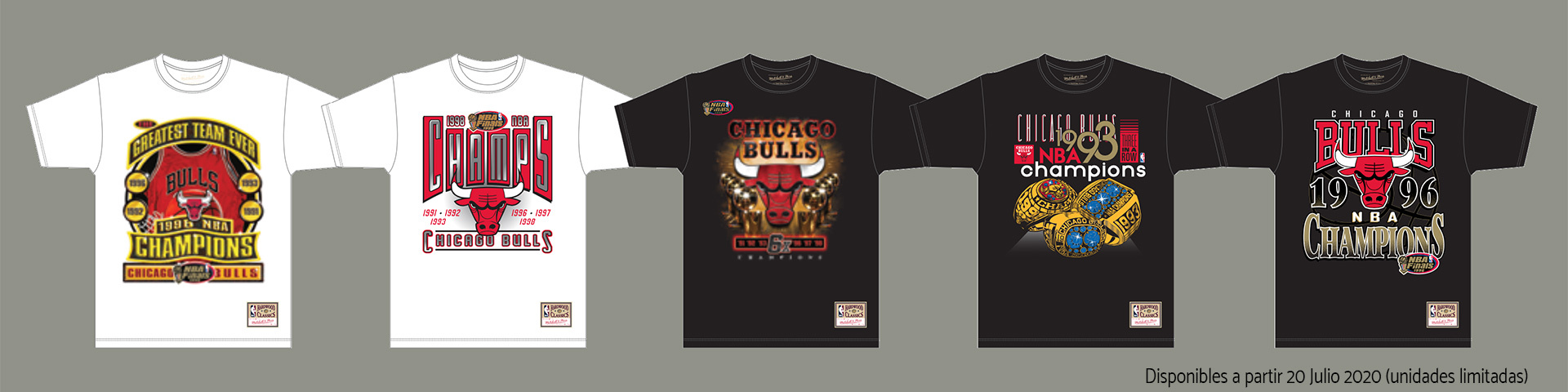 Last Dance. Chicago Bulls. Retro NBA. Colección exclusiva camisetas Hardwood Class